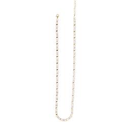 Gold-Collier 40 cm 14kt | 585 er Gelbgold / Weißgold 15.EG218