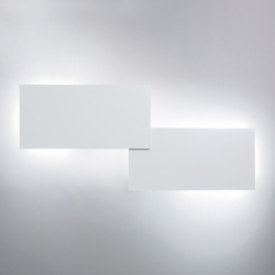 Lodes Puzzle Double Rectangle LED Wand- / Deckenleuchte