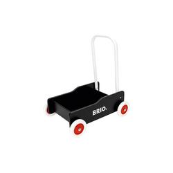 BRIO® Lauflernwagen Holz Lauflernwagen schwarz