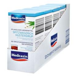 Medicazin Spitzwegerich Hustensirup 250 ml, 5er Pack