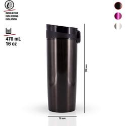 Sigg Trinkflasche Sigg Thermobecher Miracle Mug Black 0,5 Liter
