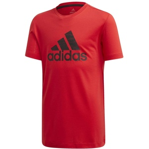 adidas Jungen T-Shirt JB TR Prime Tee, Rojint/Negro, 134 (8/9 años), FK9500