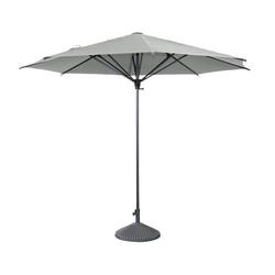 Leco-Sonnenschirm, Ø ca. 300 cm, grau