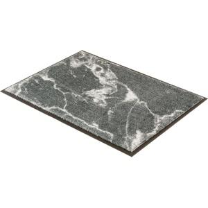 Fußmatte Miami 001, SCHÖNER WOHNEN-Kollektion, rechteckig, Höhe 7 mm, waschbar grau 67 cm x 100 cm x 7 mm