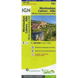 Montauban.Cahors.Albi 1:100 000