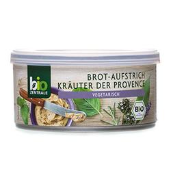 biozentrale Brotaufstrich Kräuter der Provence, 6er Pack (6 x 125 g)
