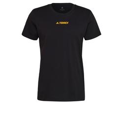 adidas Terrex Herren T-Shirt schwarz