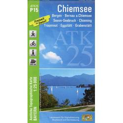 Chiemsee 1 : 25 000