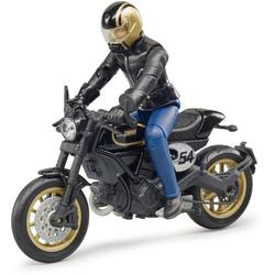 Bruder® Spielzeug-Motorrad Ducati Cafe Racer mit Fahrer