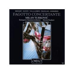 Turkovic - Fagotto Concertante (CD)