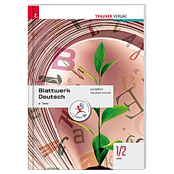 Blattwerk Deutsch - Texte  1/2 HAS. Iris Pallauf-Hiller  Johannes Gaisböck  - Buch