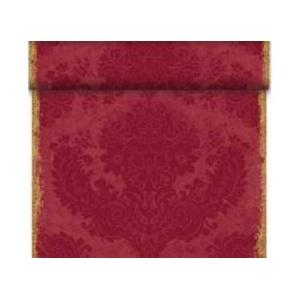 Duni Dunicel Tischläufer Tête-à-Tête Royal Bordeaux 40 x 2400 cm, Duni Tete a Tete Royal Bordeaux mit 20 perforierten Abschnitten à 1,20 m lang und 0,40 cm breit