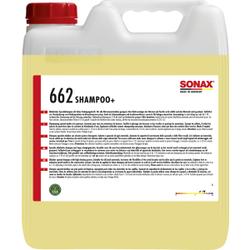 SONAX Shampoo+ alkalisches Spezialshampoo, Spezialshampoo für Waschanlagen, 10 Liter - Kanister