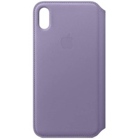 Apple iPhone XS Max Leder Folio flieder
