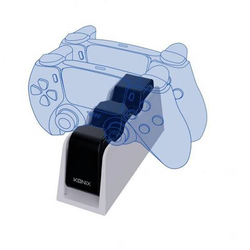 Konix DUAL CHARGE BASE PS5 Controller-Ladestation