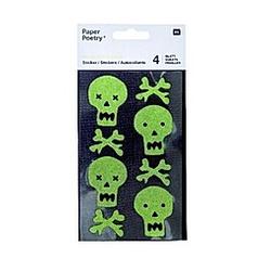 Washi Sticker, Schädel