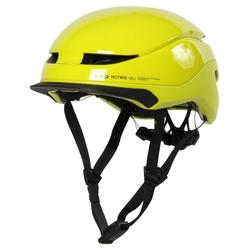 KED Fahrradhelm Herren Fahrradhelm gelb 52-58