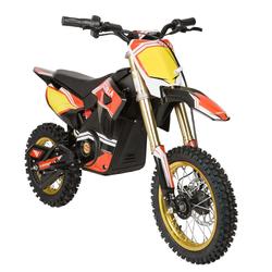 Moto Villa Elektro Minicross Motorrad FVR-E Schwarz/Rot