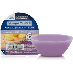 Yankee Candle Duftwachs Wax Melts   Lemon Lavender   bis zu 8 Stunden Duft   1 Stück