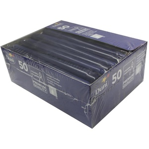 Duni Leuchterkerzen dunkelblau, 25 cm, 50 Stück