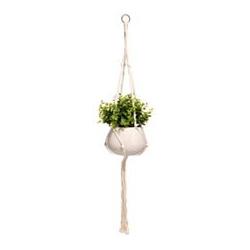 ABELLA Flora künstliche Pflanze in hängendem Topf Höhe ca. 90cm