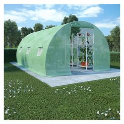 vidaXL Gewächshaus vidaXL Gewächshaus 13,5 m² 450×300×200 cm