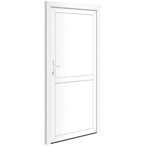 RORO Türen & Fenster Nebeneingangstür OTTO 22, BxH: 88x198 cm, weiß, ohne Griffgarnitur