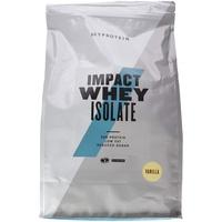 MYPROTEIN Impact Whey Isolate Vanilla Pulver 5000 g