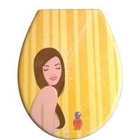 ADOB WC-Sitz Shower, Mit Absenkautomatik gelb