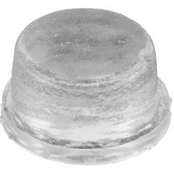 Gerätefuß rutschhemmend, selbstklebend, rund Schwarz (Ø x H) 12.7mm x 1.5mm
