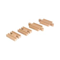 BRIO® Spielzeug-Eisenbahn 1/4 Ausgleichsschienen Mix