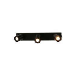 VBLED LED Deckenspot LED 3x1W warmweiße Deckenspot-Aufbauleiste Rotier- & Schwenkbar