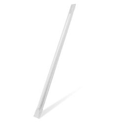 Papiertrinkhalme Trinkhalme aus Papier weiß einzeln gehüllt 25 cm Ø 8 mm 100 Stk