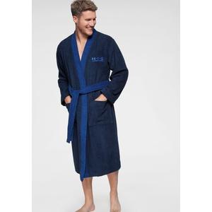 Bademantel , blau, Langform, XXL, »Hannes«, H.I.S