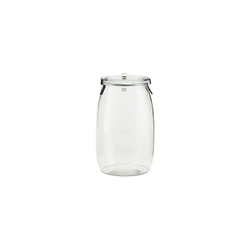 House Doctor Use, Dose, Glas, 1620 ml, H: 19,5 cm, Durchmesser: 11 cm
