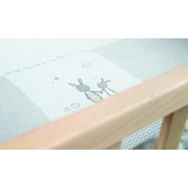 Roba Laufgitter 75 x 100 cm natur Bodenfarbe Fox & Bunny (202100NAS168)