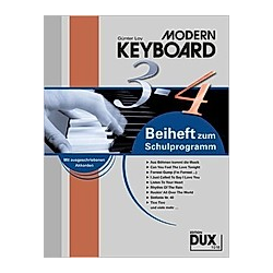 Modern Keyboard  Schulprogramm  Beiheft. Günter Loy  - Buch