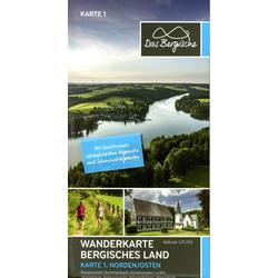 Naturpark Bergisches Land 1:25.000