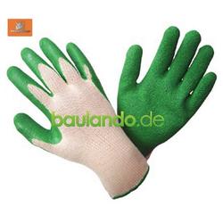 TRIZERATOP Gartenhandschuhe Handschuhe Latex grün Gr. 10 Arbeitshandschuhe Arbeitshandschuhe