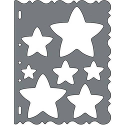 ShapeCutter Schablone Sterne