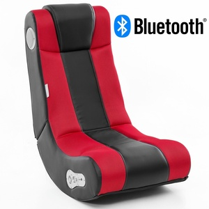 Finebuy Soundchair Rot Bluetooth Gaming Relaxliege Soundsessel Musiksessel