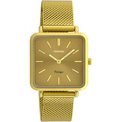 OOZOO Damen Uhr 'C20010' curry / senf, Größe One Size, 4501522