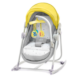 Kinderkraft 5-in-1 Babywiege Unimo Yellow