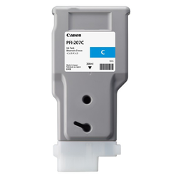 Canon Tinte PFI-207 Cyan, 300 ml