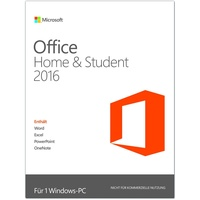 Microsoft Office Home & Student 2016 PKC DE Win