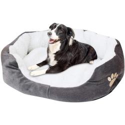 Favson Hundematte Hundebett Waschbar Flauschig Hundekörbchen Hundesofa Hundekissen Hundekorb Lotte Bezug Haustierbett für Winter Katzen Hund