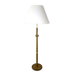 Stehlampe, Made in Germany braun