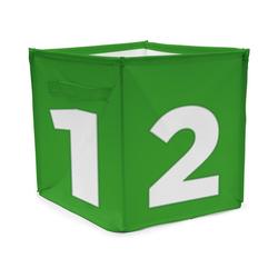ACHOKA® Aufbewahrungsbox Aufbewahrungsbox Würfel - rot grün