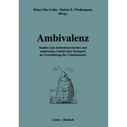 Ambivalenz als Buch von