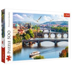 Trefl Puzzle Trefl 37382 Prag, Czech Republic 500 Teile Puzzle, 500 Puzzleteile